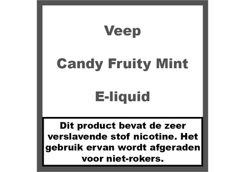 Veep Candy Fruity Mint (50ml)