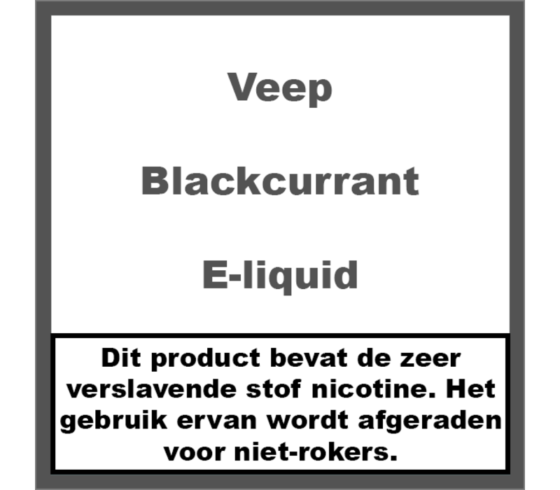 Blackcurrant (50ml)