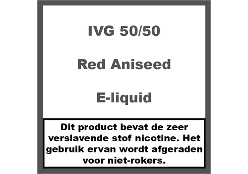 IVG Red Aniseed