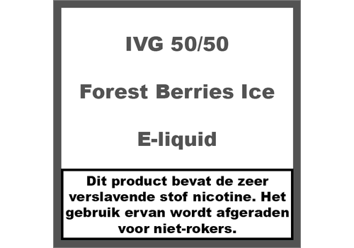 IVG Forest Berries Ice