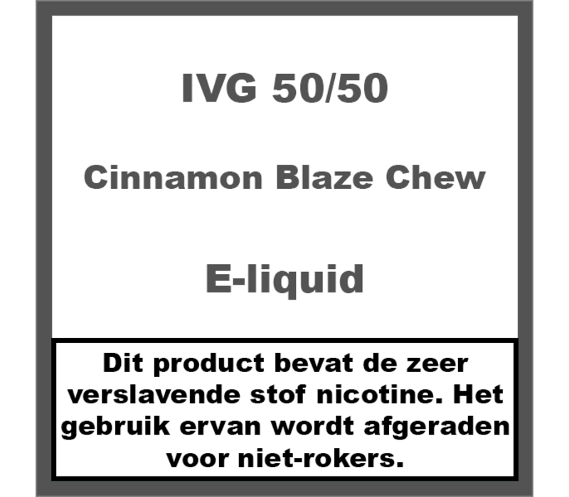 Cinnamon Blaze Chew