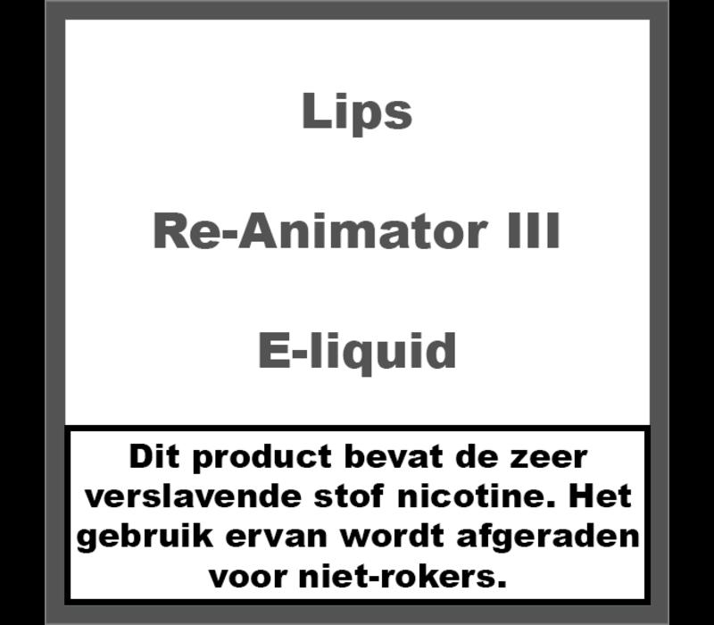 Re-Animator III e-liquid