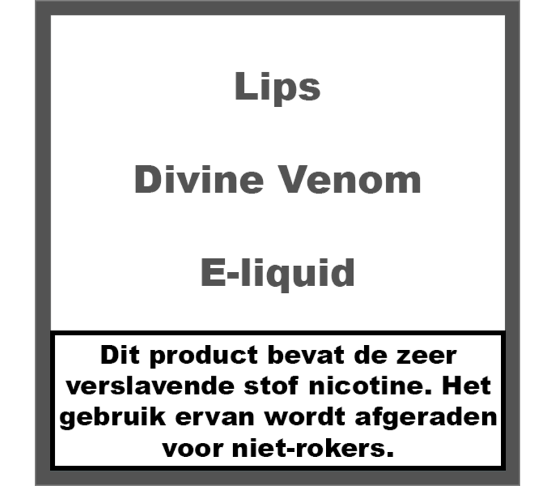 Divine Venom e-liquid