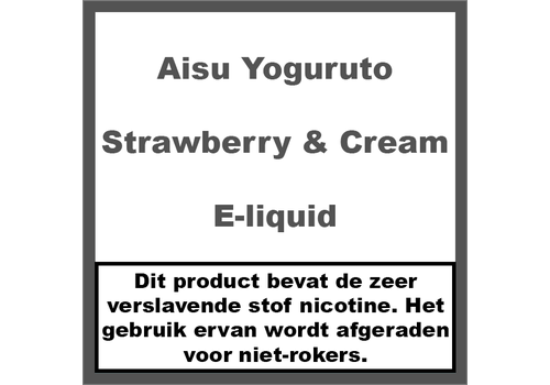 Aisu Yoguruto Strawberry & Cream