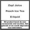 Zap! Juice Peach Ice Tea