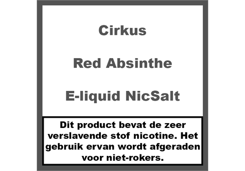 Cirkus Red Absinthe NS20