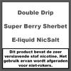 Double Drip Super Berry Sherbet Nic Salt