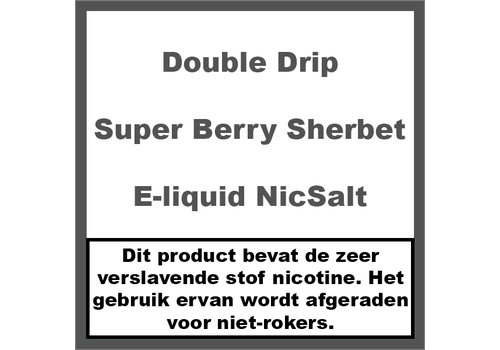 Double Drip Super Berry Sherbet NS