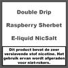 Double Drip Raspberry Sherbet Nic Salt