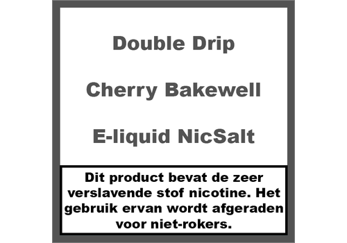 Double Drip Cherry Bakewell NS