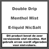 Double Drip Menthol Mist Nic Salt