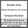 Double Drip Mango Raspberry Ice Cream Nic Salt