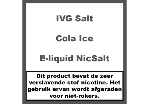 IVG Cola Ice NS20