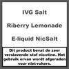 IVG Riberry Lemonade NS20