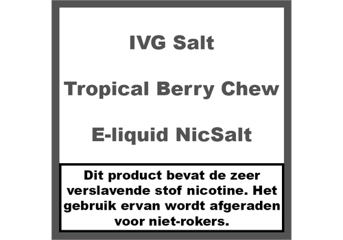 IVG Tropical Berry Chew NS20
