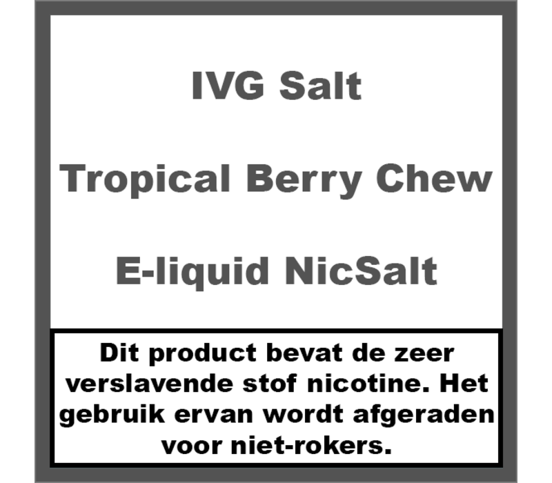 Tropical Berry Chew NS20