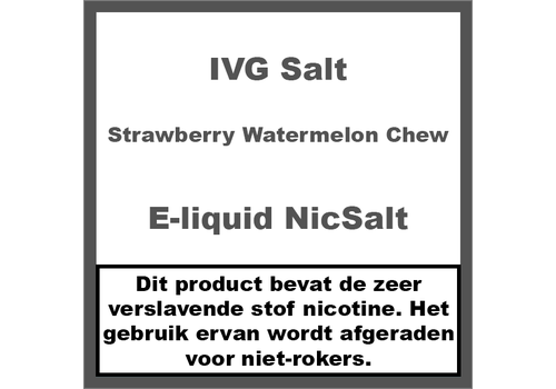 IVG Strawberry Watermelon Chew NS20