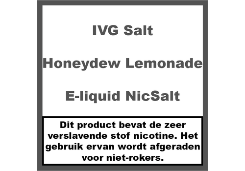IVG Honeydew Lemonade NS20