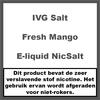 IVG Fresh Mango NS20