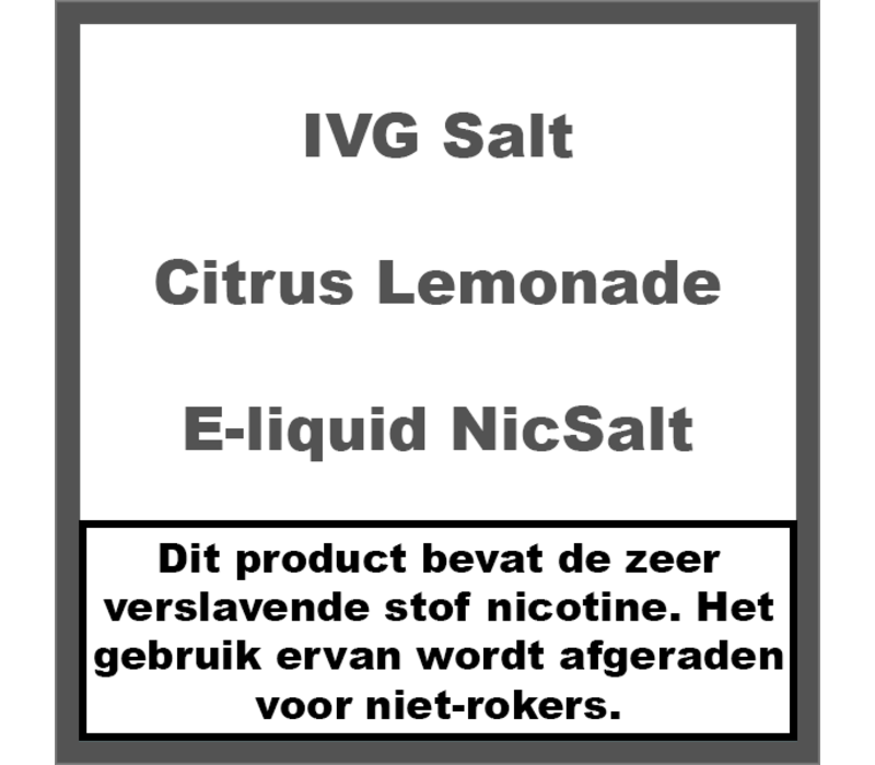Citrus Lemonade NS20