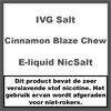 IVG Cinnamon Blaze Chew NS20