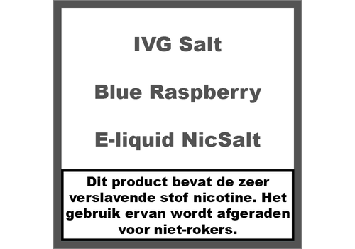IVG Blue Raspberry NS20