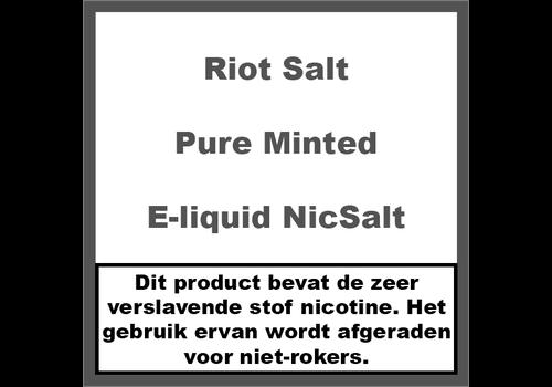 Riot Salt Pure Minted