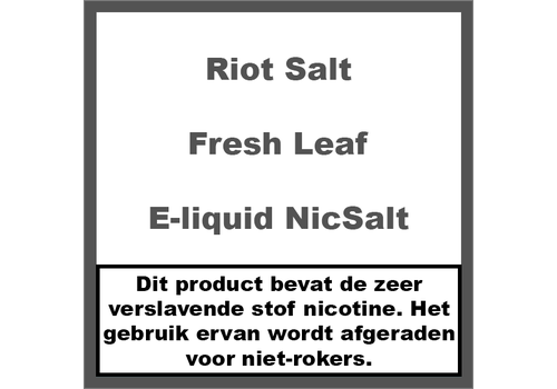 Riot Salt Fresh Leaf