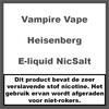 Vampire Vape Heisenberg NicSalt