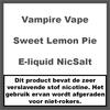 Vampire Vape Sweet Lemon Pie