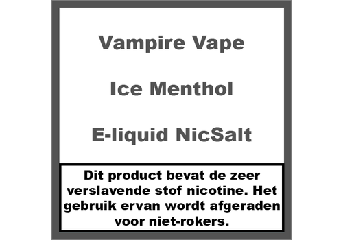 Vampire Vape Ice Menthol