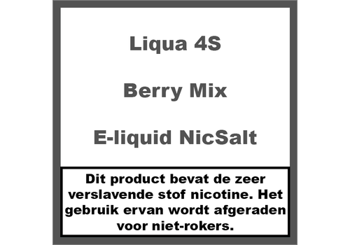 LiQua 4S Berry Mix