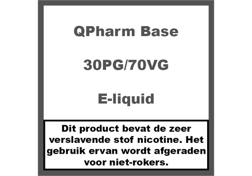 QPharm Base 30%PG/70%VG