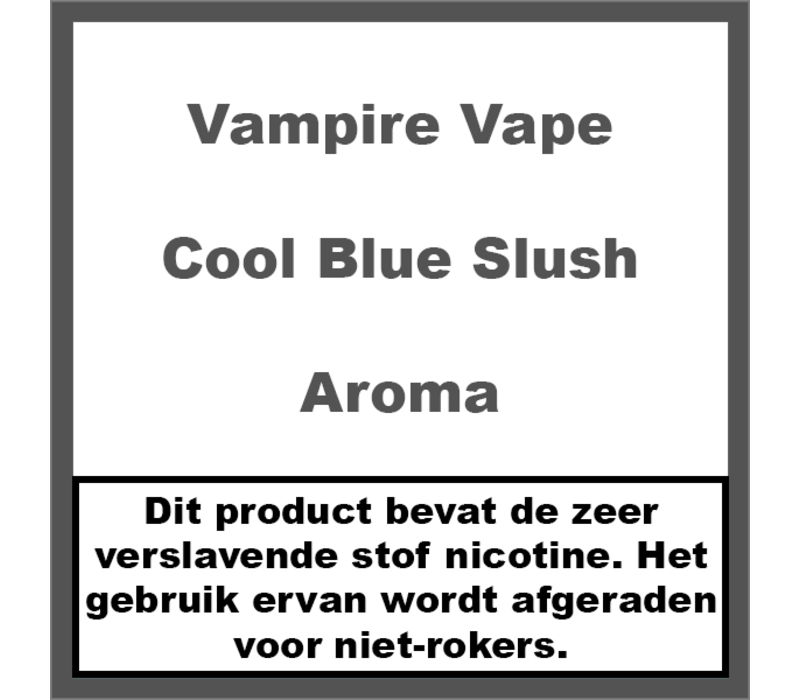 Cool Blue Slush