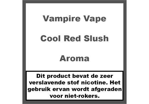 Vampire Vape Cool Red Slush
