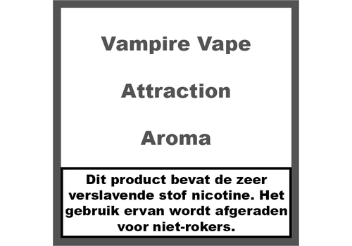 Vampire Vape Attraction Aroma
