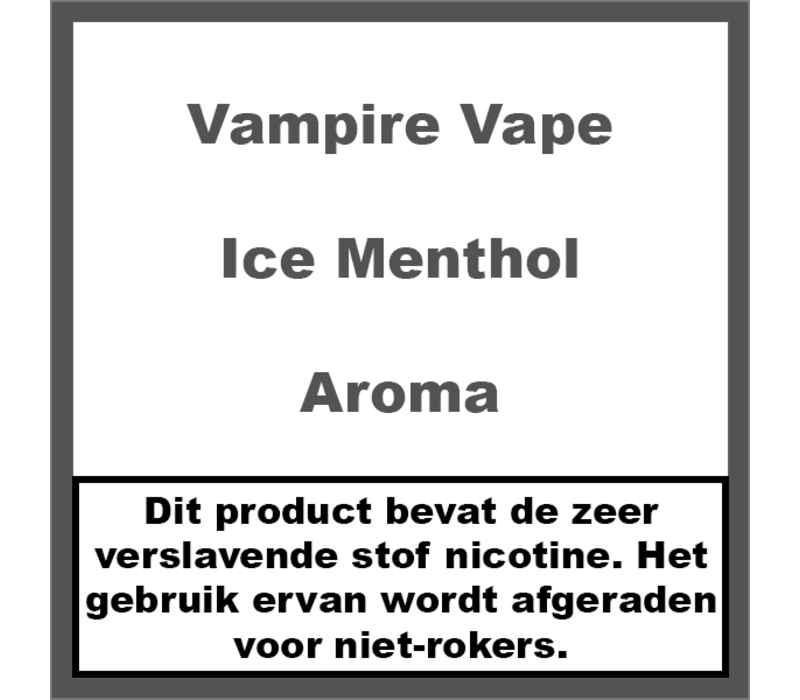 Ice Menthol Aroma