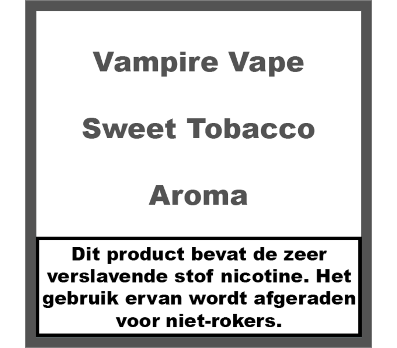 Sweet Tobacco Aroma