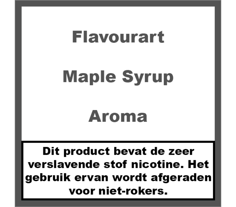 Maple Syrup Aroma