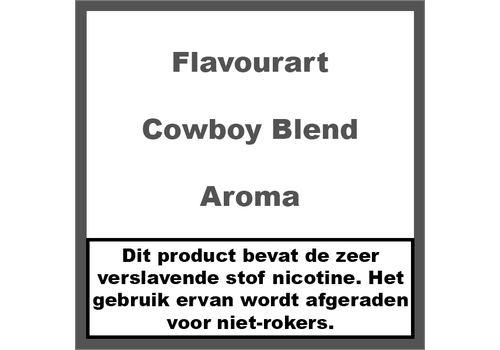 FlavourArt Cowboy Blend Aroma