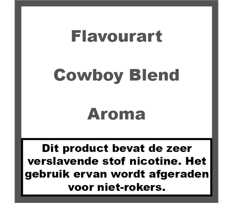 Cowboy Blend Aroma