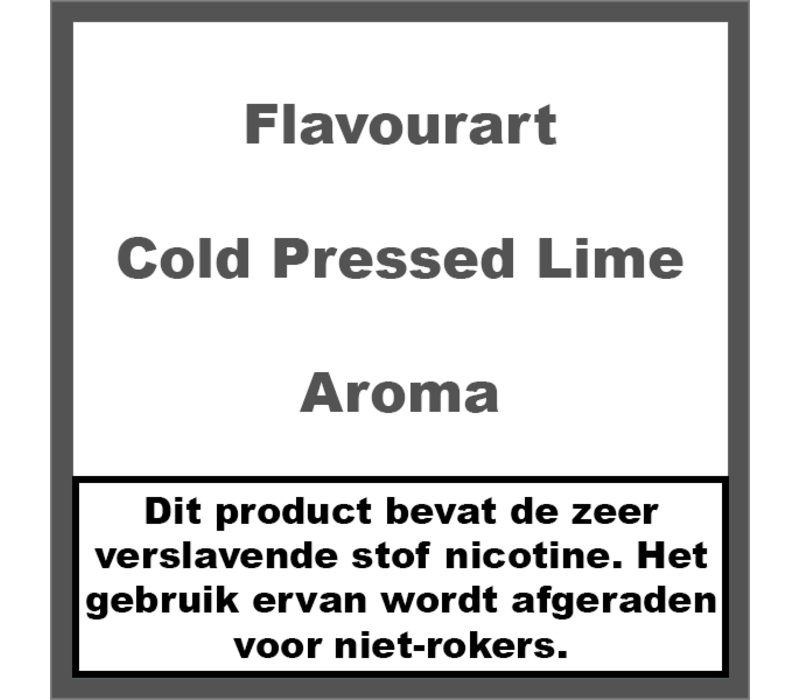 Cold Pressed Lime Aroma