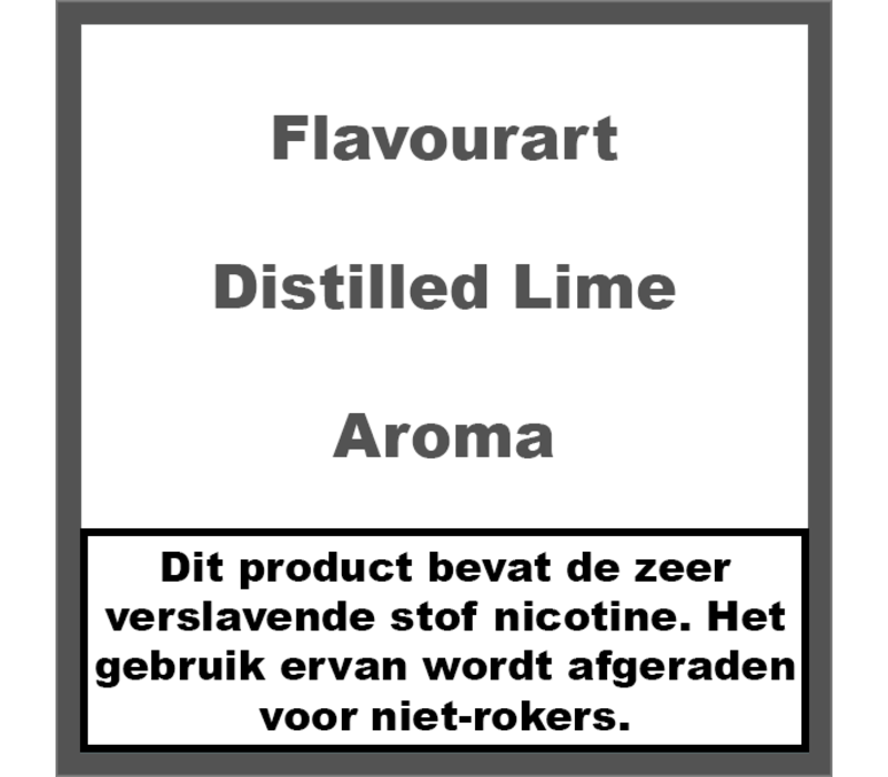 Distilled Lime Aroma