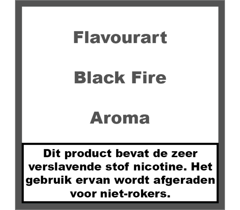 Black Fire Aroma