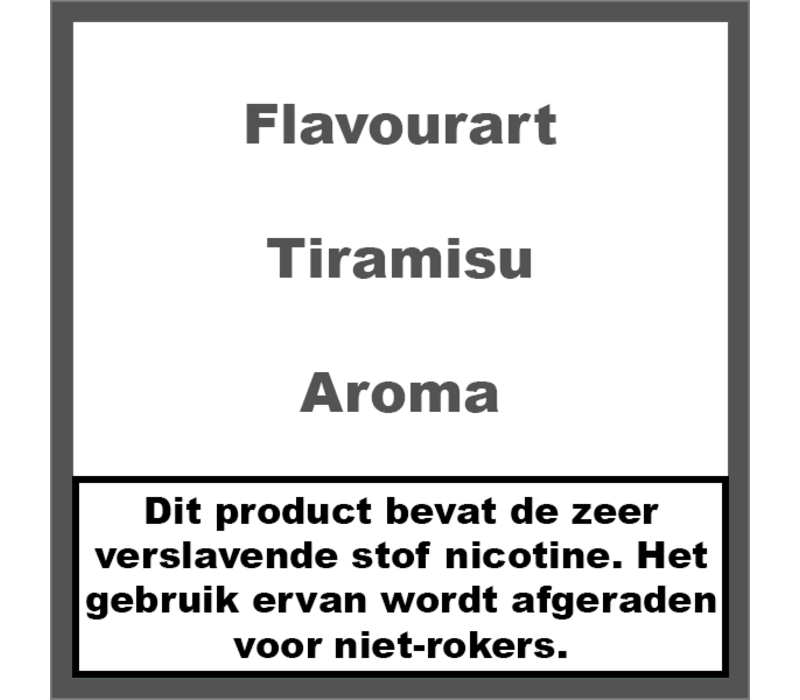 Tiramisu Aroma
