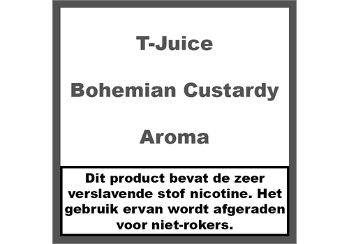 T-Juice Bohemian Custardy