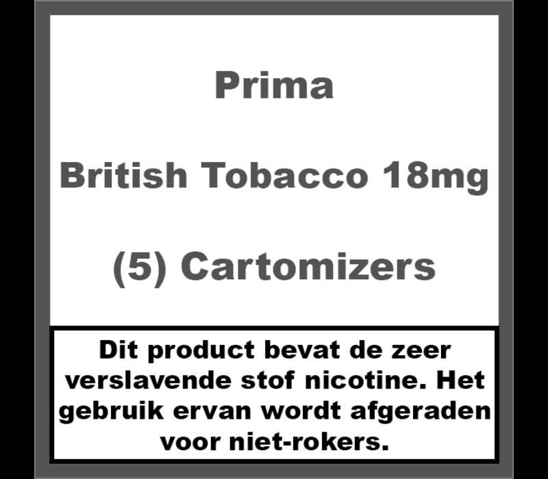 Cartomiser British Tobacco 18mg