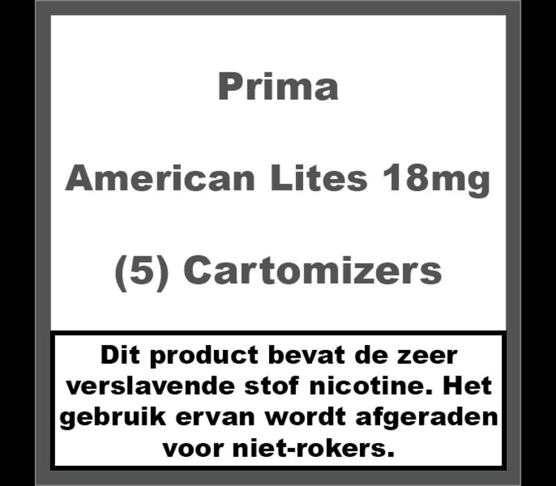 Cartomiser American Lites 18mg