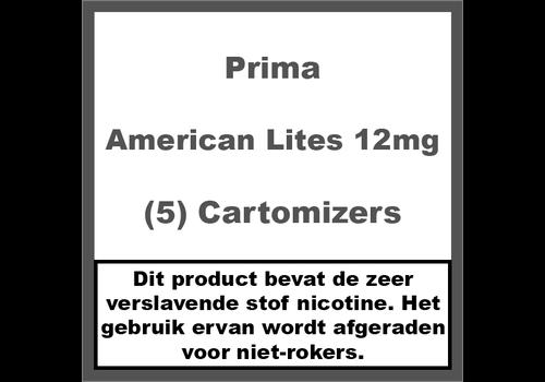Prima Cartomiser American Lites 12mg
