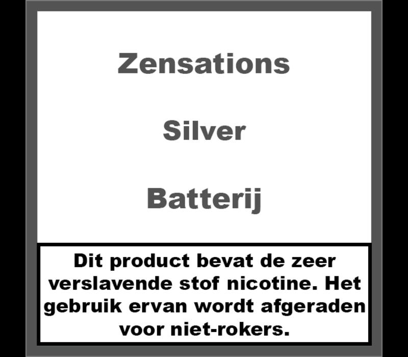 Batterij Zilver